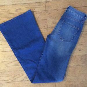 J crew high waisted bell bottom jeans